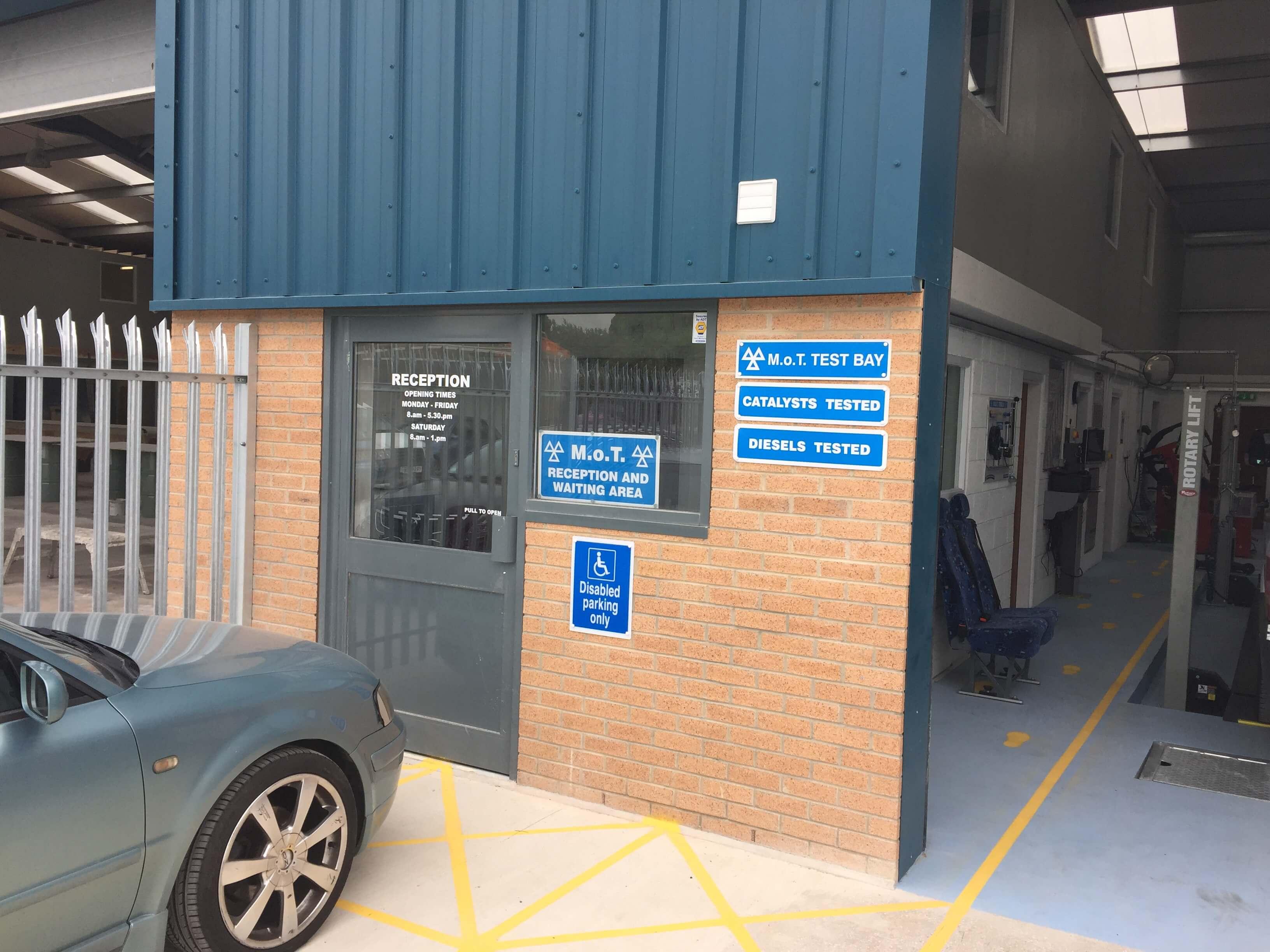MOT Test Centre in Barnsley