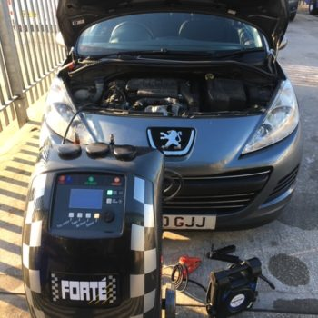 Image Of DPF Cleaning